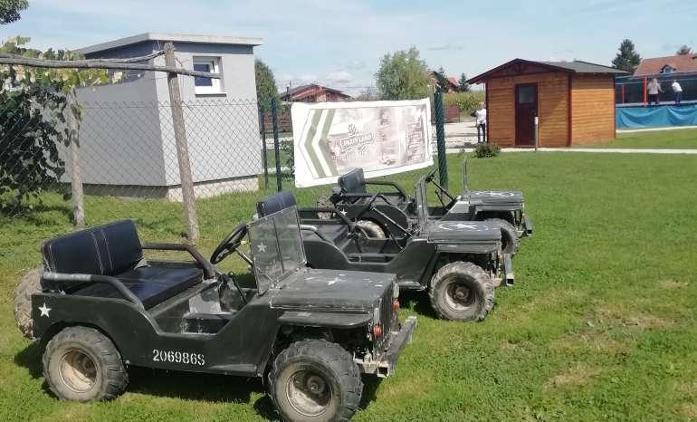 Mini jeep vožnja
