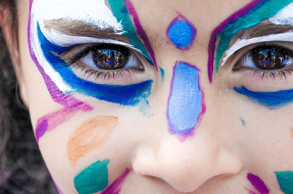 Face painting – NOVO